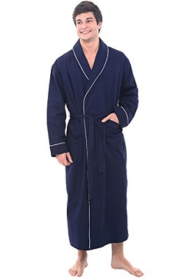 TowelSelections Terry Cloth Bathrobe – Shawl Collar Terry Robe for Women  and Men 2404de74c