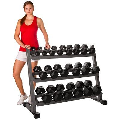 Best Strength Training Dumbbell Racks