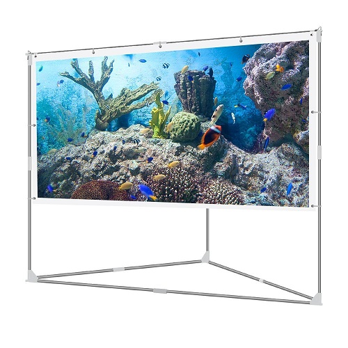 The Best Portable Video Projection Screens In 2018 Reviews