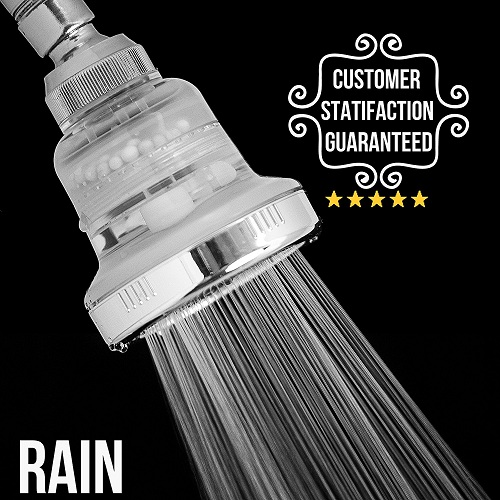 Best Filtered Showerhead In 2018 Reviews