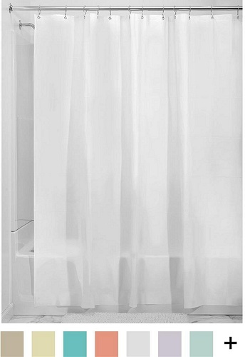 Best Shower Curtain Liner In 2018 Reviews - BestTopNow